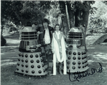 Tom Baker, Lalla Ward -  Multi signed original autograph not a copy 10274